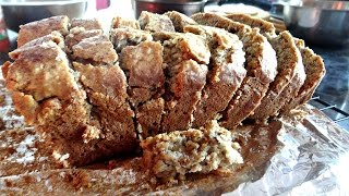 Healthy No Butter Whole Wheat Banana Bread