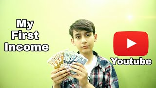 Gambar cover My First income from Youtube | Pros Lab