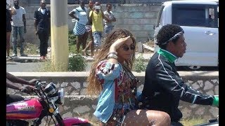 Jay Z and Beyonce SPOTTED in Jamaica Doing Music Video? (OTR2) On The Run II