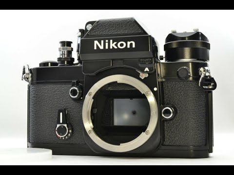 Recommended film camera collection Nikon F2A A Photomic 35mm SLR Film Camera Black Body Only Japan