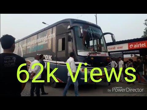 Full journey Delhi to patna (via muzafarpur) by bus