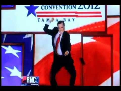 Gangnam Style Mitt Romney Style Dance
