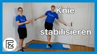 Knie stabilisieren - Die besten Übungen für den Muskelaufbau am Knie.