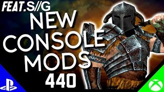 Skyrim Special Edition: ▶️5 BRAND NEW CONSOLE MODS◀️ #440 (PS4/XB1) Featuring - Spectr Gaming