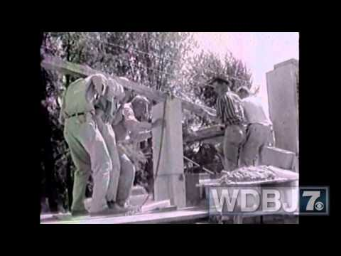 Construction Of The WDBJ7 Television Station On Colonial Avenue
