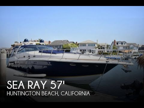 [UNAVAILABLE] Used 1999 Sea Ray 500 Sundancer In Huntington Beach, California
