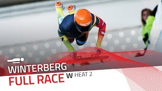 Winterberg | BMW IBSF World Cup 2019/2020 - Women's Skeleton Heat 2 | IBSF Official