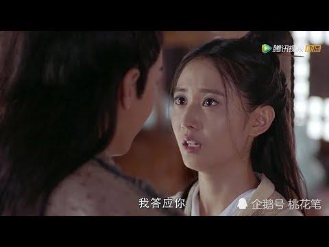 赵敏和张无忌的吻戏,注意看赵敏的表情,网友沸腾了!