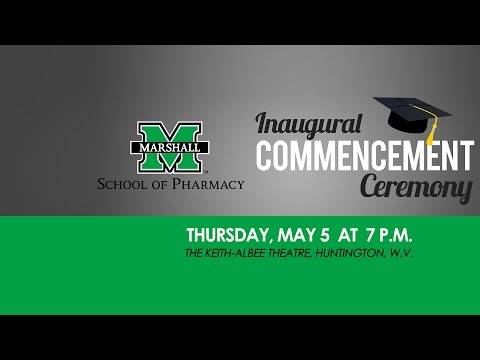 360° view of the School of Pharmacy Inaugural Commencement