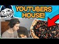 SENDING NASTY PIZZA TO YOUTUBERS HOUSE *LIVE REACTION* (Minecraft Trolling)