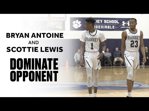 Five-Star Teammates Bryan Antoine and Scottie Lewis Have Major Game - Full Highlights