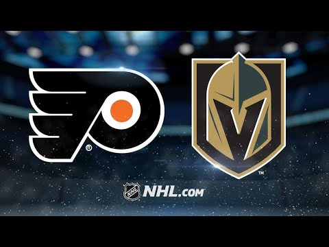 Couturier, Neuvirth pace Flyers past Vegas, 4-1