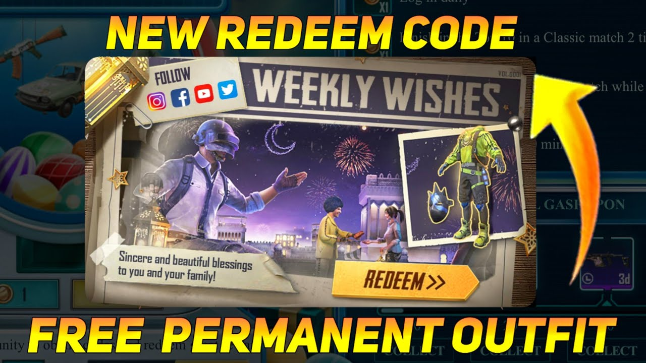 FREE NEW OUTFIT WEEKLY WISHES - NEW REDEEM CODE EVENT - SAMSUNG,A3,A5,A6,A7,J2,J5,J7,S5,S6,S7,59,A10