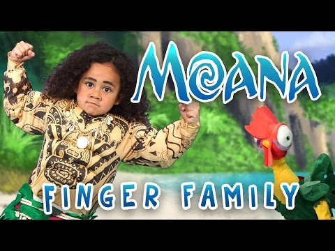 Thumbnail: The Greatest Finger Family Song | Moana | Nursery Rhymes | WigglePop | Family Friendly | Kids Songs