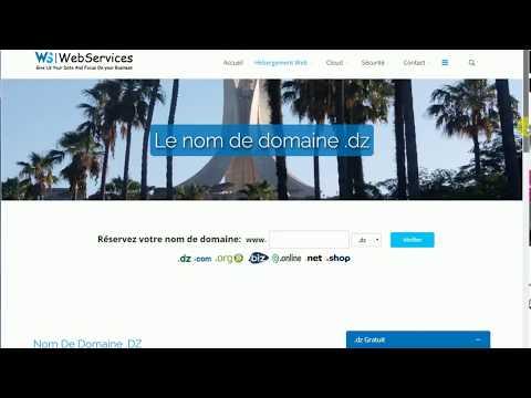Transfert Nom De Domaine Vers L'Algérie