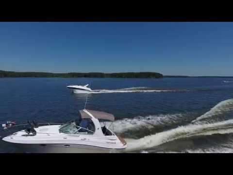 Chasing boats