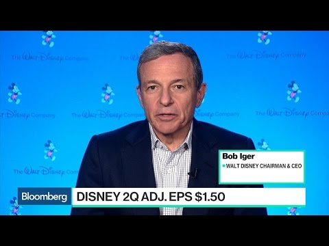Disney's Iger on Earnings, Shanghai Expansion and ESPN