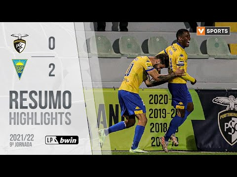 Portimonense Estoril Goals And Highlights