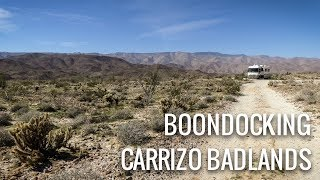 Join us for a short stay at the beautiful Carrizo Badlands Overlook...