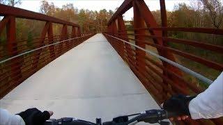 Mountain Biking - Neuse River Trail Falls Lake Dam to WRAL Soccer Center  - Part I -  Nov. 2, 2013