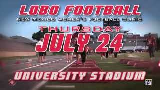 2014 Lobo Football | New Mexico Women