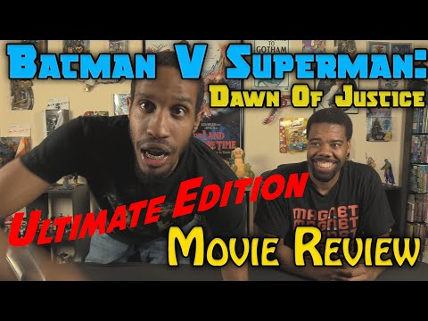 Batman V Superman: Dawn Of Justice Ultimate Edition....Movie Review