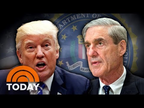 President Donald Trump Calls Out Robert Mueller On Twitter | TODAY