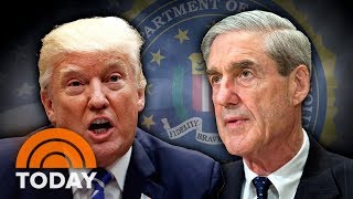 President Donald Trump Calls Out Robert Mueller On Twitter | TODAY thumbnail