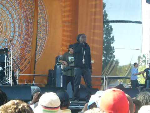 Junior Reid - Poison - Sierra Nevada World Music Fest 09