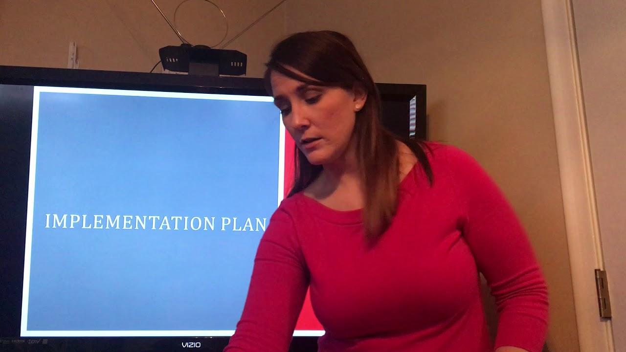 Kelsey Allen MSN Capstone Project Presentation WGU