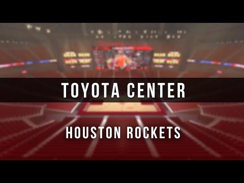 3D Digital Venue - Toyota Center (NBA Houston Rockets)