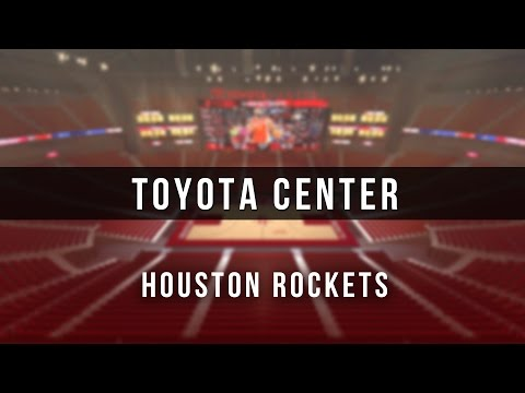 3D Digital Venue - Toyota Center (NBA Houston Rockets)