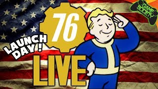 Fallout 76 Launch Live! | Reaching 20th Level