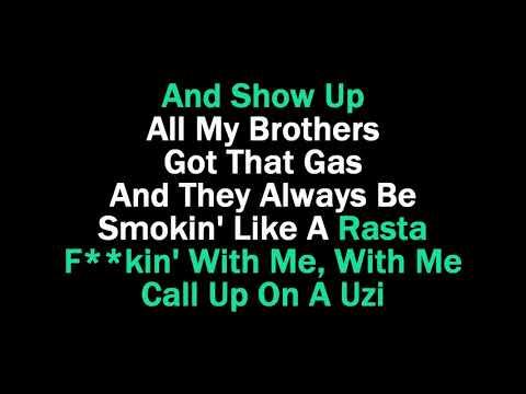 Rockstar karaoke (guide vocals) Post Malone feat 21 Savage
