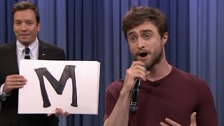 "Gambar cover Daniel Radcliffe Raps Blackalicious ""Alphabet Aerobics"" on the Tonight Show"