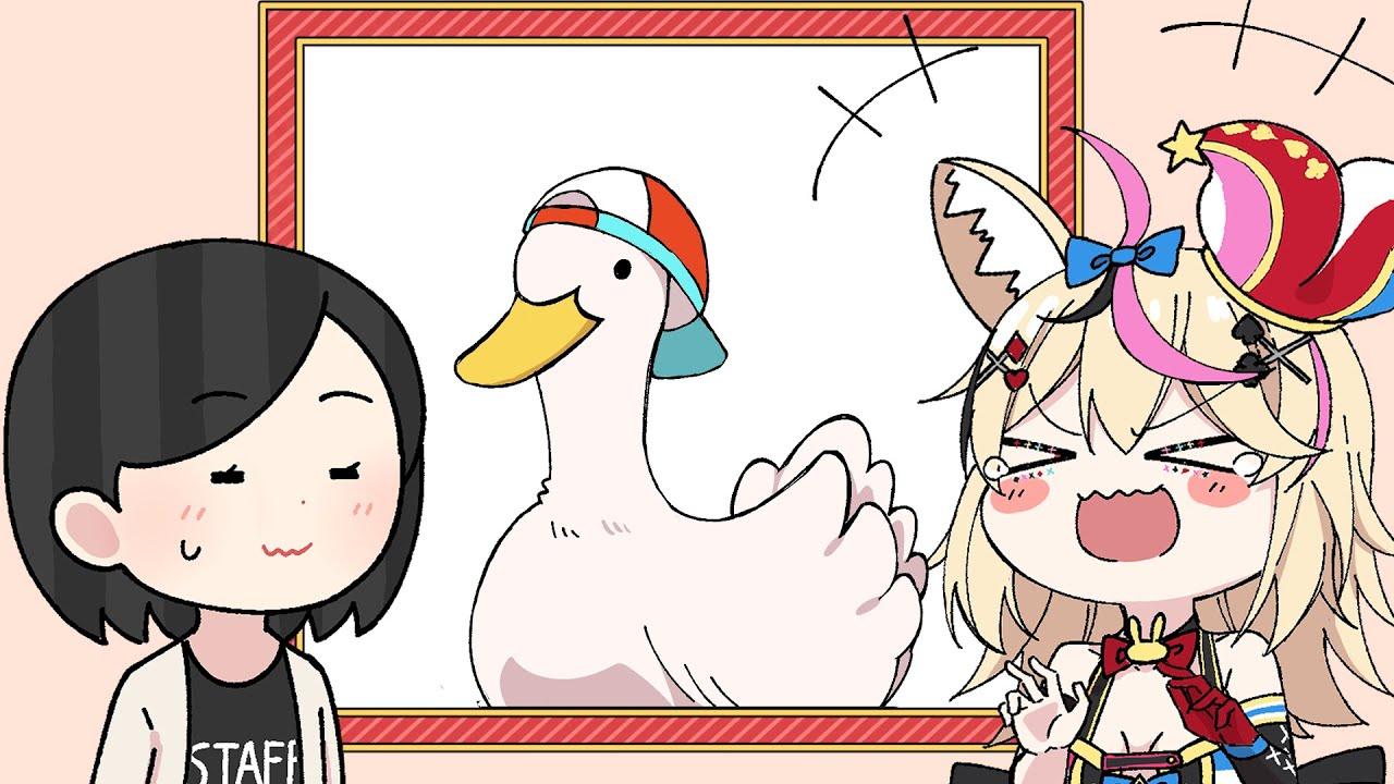 【手描き】ききくしゃみ【井筒さん/尾丸ポルカ】