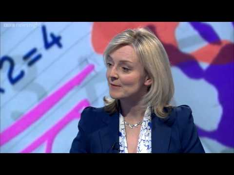 NEWSNIGHT: Minister Liz Truss On Approach To Early Years Education