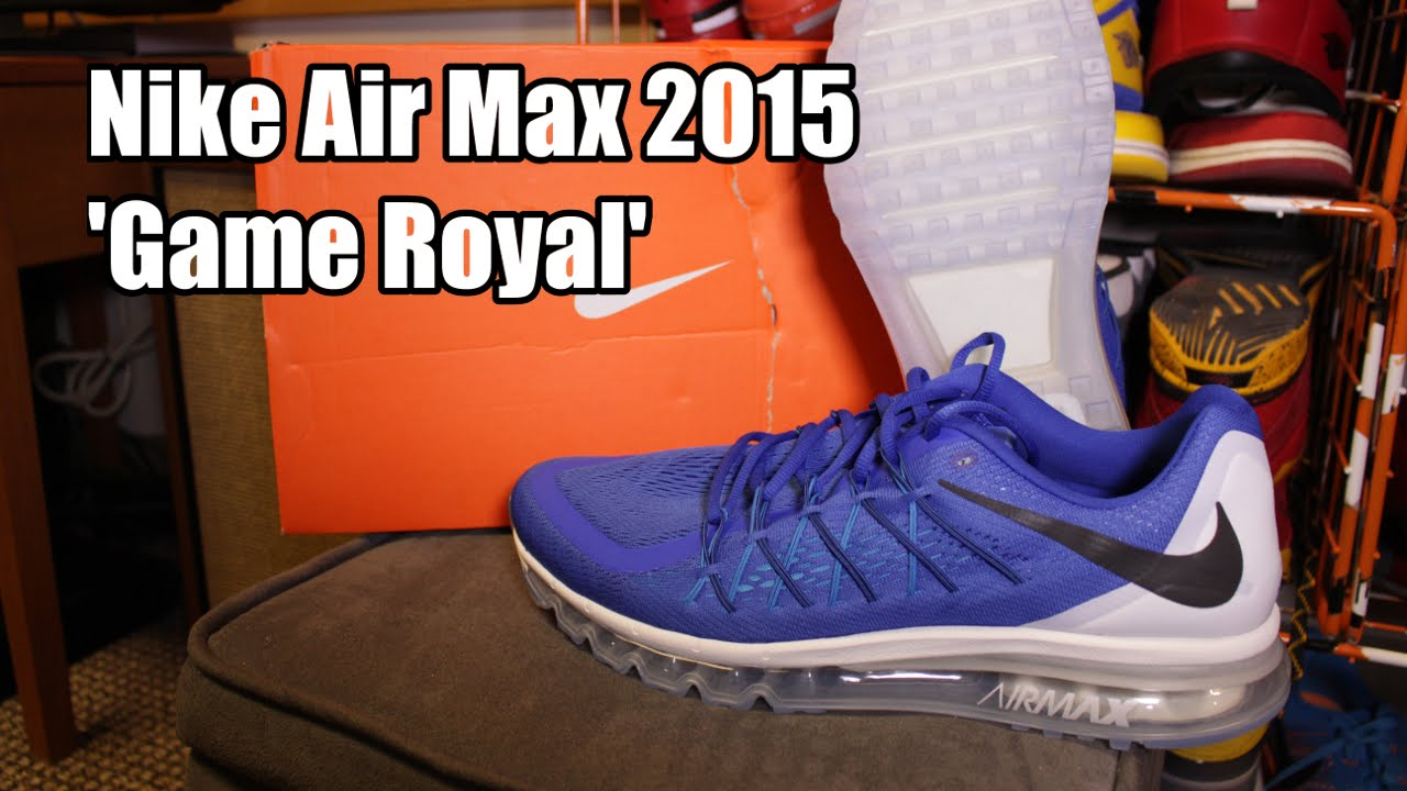 nike air max 2015 game royal