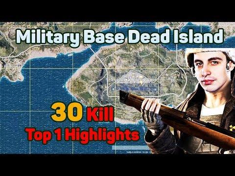 Military Base is Dead Island - Shroud 30 Kills Solo FPP [NA] - PUBG Highlights Top 1 #3