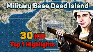 Military Base is Dead Island - Shroud 30 Kills Solo FPP [NA] - PUBG Highlights Top 1