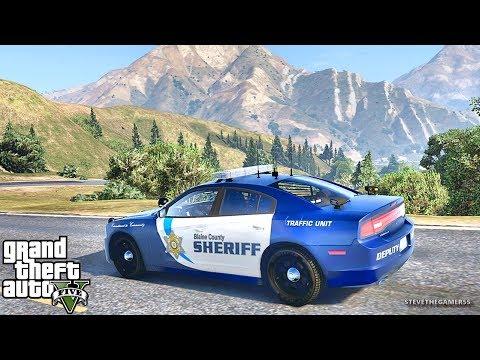 GTA 5 MODS LSPDFR 851 - TEST PATROL!!! (GTA 5 REAL LIFE PC MOD) AFTER FLOOD