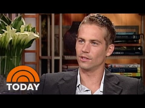 #TBT: Paul Walker Interview For '2 Fast 2 Furious' | TODAY