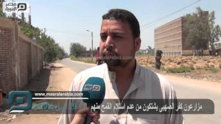 مصر العربية | مزارعون كفر الصهبى يشتكون من عدم استلام القمح منهم