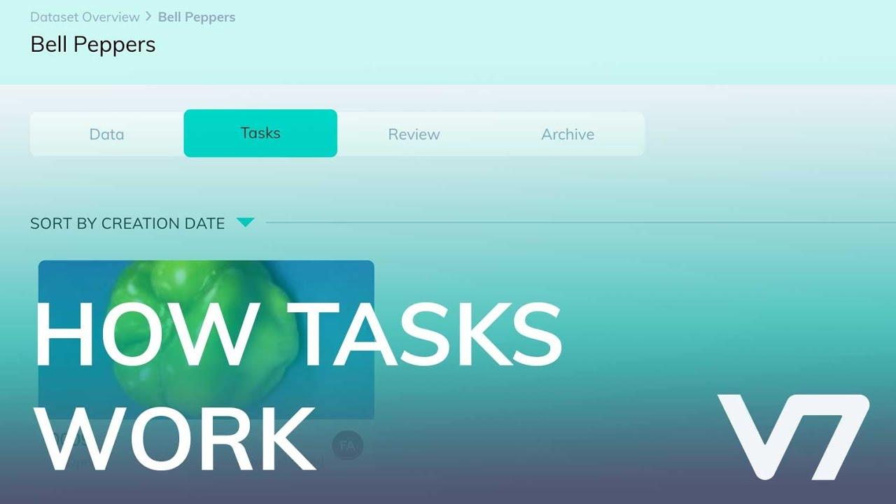 Tasks - V7 Darwin Academy