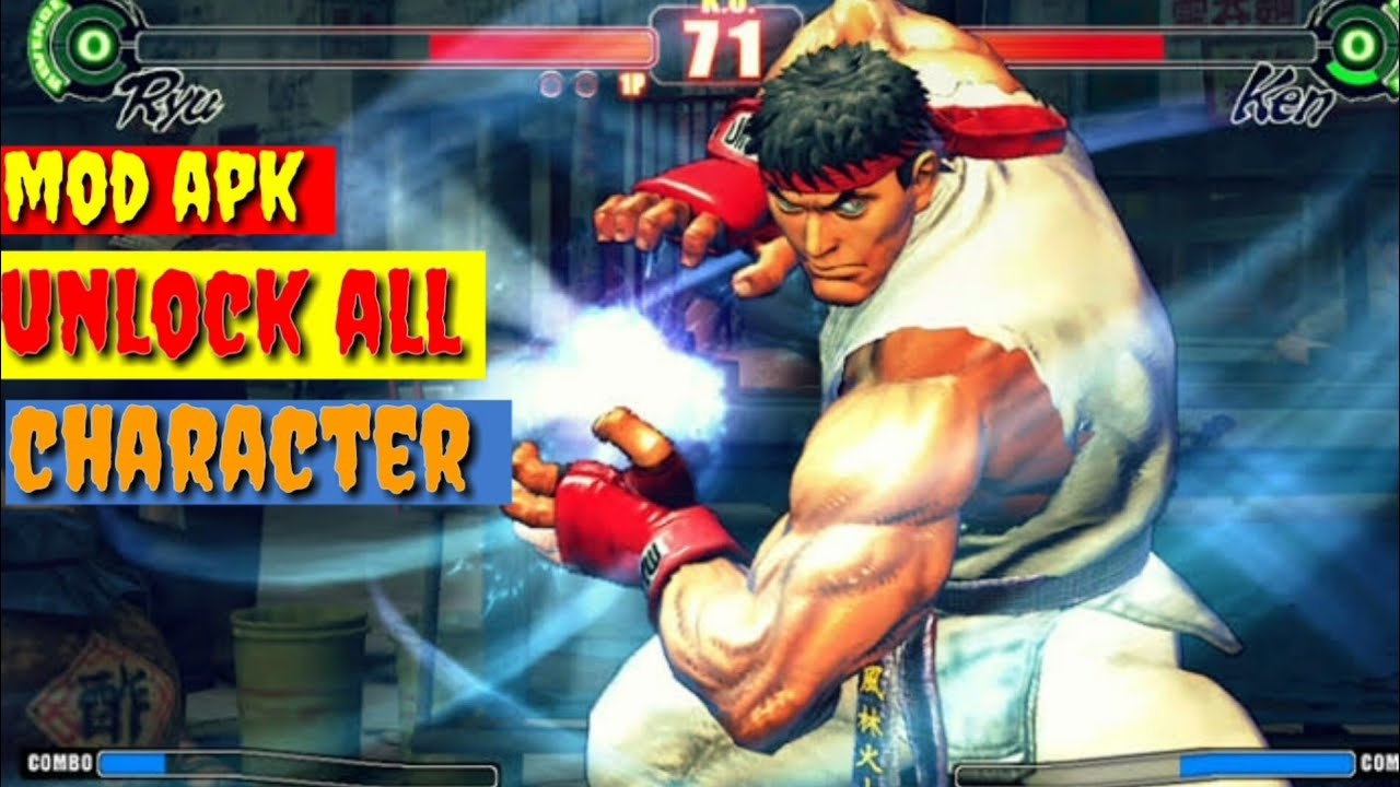 street fighter iv all characters apk