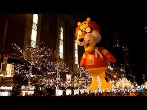 Magnificent Mile Lights Festival Parade Chicago 2010 HD