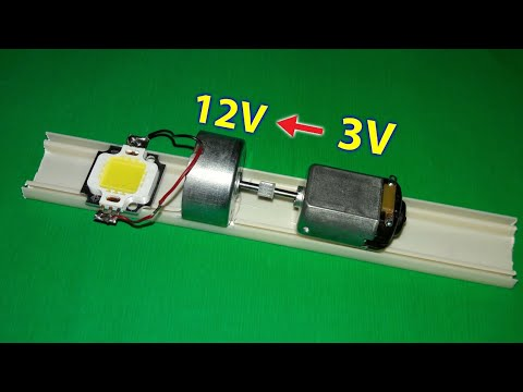 "Convert 3v to 12v by ""Generator"""