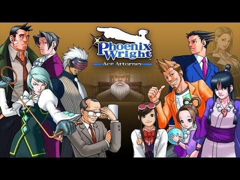 Phoenix Wright  Ace Attorney Walkthrough Complete Game