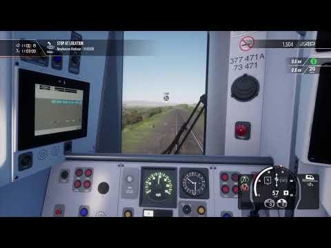 Train Sim world 2 class 377  