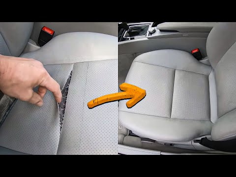 Car Seat Covers Repair For Beginners A Mercedes-Benz.